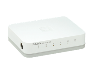 D-Link GO-SW-5G Cloud&GO 5-port Gigabit switch