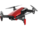 DJI MAVIC Air drón, Fly More Combo, Flame Red