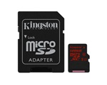 Kingston 128GB micro SD kártya, SD adapterrel (SDCA3/128GB)