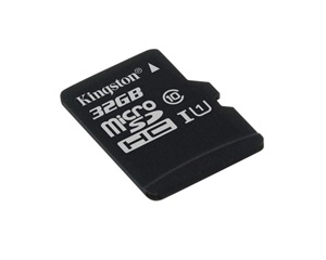 Kingston 32GB Micro SDHC kártya, Class10 (SDC10G2)