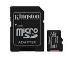 Kingston Canvas Select Plus MicroSDHC memóriakártya adapterrel, 32GB, 100R A1 C10