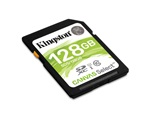 Kingston Canvas Select SD-kártya, 128GB, SDXC, CL10, UHS-I