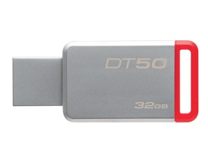 Kingston DataTraveler 50 pendrive, 32GB, USB3.0