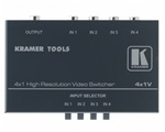 Kramer 4x1V Kompozit video switcher