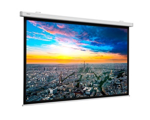 Projecta Compact Electrol screen, Wide (16:10), 191x300cm, Matt white, Wall switch