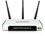 TP-LINK TL-WR940N N300 Wireless Router, 3x 3dBi antenna